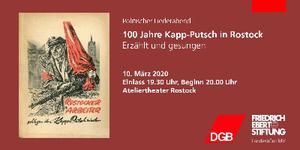 100 Jahre Kapp-Putsch Rostock